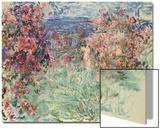 The House Among the Roses (La Maison Dans Les Roses), 1925 Art by Claude Monet