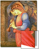 An Angel Playing a Flageolet, 1878 Posters by Sir Edward Coley Burne-Jones