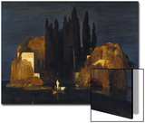 The Isle of the Dead (First Version), 1880 Prints by Arnold Bocklin