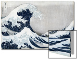 The Great Wave of Kanagawa, from the Series '36 Views of Mt. Fuji' ('Fugaku Sanjuokkei') Art by Katsushika Hokusai