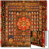 Garbhadhatu Mandala, 8th-9th Century Posters