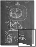 Firemen Helmet Patent Print