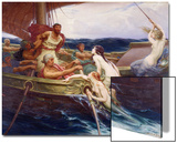 Ulysses and the Sirens, 1910 Prints by Herbert James Draper