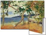 By the Seashore, Martinique, 1887 Posters par Paul Gauguin