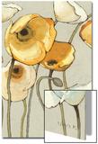 Jaune Gris II Crop Prints by Shirley Novak