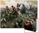 Battle of Waterloo, 18th June 1815, 1898 Posters by William Holmes Sullivan
