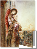 Angel Traveller (W/C) Prints by Gustave Moreau