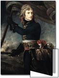 General Bonaparte (1769-1821) on the Bridge at Arcole, 17th November 1796 Prints by Antoine-Jean Gros