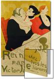 Reine De Joie, 1892 Prints by Henri de Toulouse-Lautrec