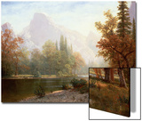 Half Dome, Yosemite Art by Albert Bierstadt
