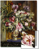 Vase of Flowers, 1871 Posters by Pierre-Auguste Renoir