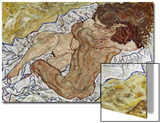 Embrace (Lovers II), 1917 Prints by Egon Schiele