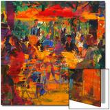 Cafe De Paris Prints by Peter Graham