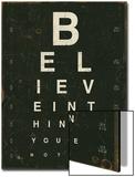 Eye Chart III Prints by Jess Aiken