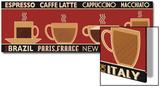 Deco Coffee Panel I Plakater av  Pela