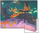 Fatata Te Miti (By the Sea) 1892 Affiches par Paul Gauguin