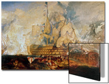 Battle of Trafalgar, 21 October 1805 Prints by J. M. W. Turner