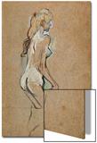 Nude Girl, 1893 Posters by Henri de Toulouse-Lautrec