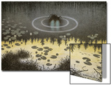 Nkken Prints by Theodor Kittelsen