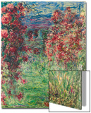 The House at Giverny under the Roses; La Maison Dans Les Roses, 1925 Print by Claude Monet
