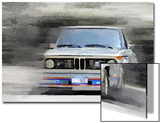 1974 BMW 2002 Turbo Watercolor Posters by  NaxArt