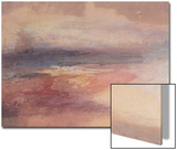 Coastal View at Sunset Posters by J. M. W. Turner