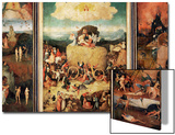 The Haywain, Triptych, circa 1485-90 Prints by Hieronymus Bosch