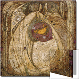 The Heart of the Rose, 1902 Prints by Margaret MacDonald