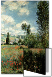 Path Through the Poppies, Ile Saint-Martin, Vetheuil, 1880 Prints by Claude Monet