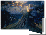 Twilight Fantasies, 1911 (W/C) Posters by Edward Robert Hughes