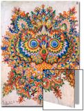Kaleidoscope Cats IV Art by Louis Wain