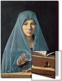 La Anunciación, 1474-75 Láminas por  Antonello da Messina