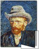 Self Portrait with Grey Felt Hat, c.1887 Prints by Vincent van Gogh