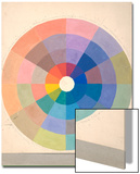 Rudolph Schaeffer, Color Wheel; Archive of American Art Prints