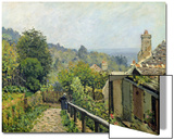 Louveciennes Or, the Heights at Marly, 1873 Prints by Alfred Sisley