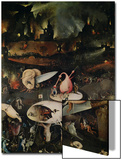 The Garden of Earthly Delights, Hell, Right Wing of Triptych, circa 1500 Poster by Hieronymus Bosch