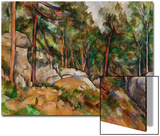 The Rocks in the Park of the Chateau Noir, 1898-1899 Prints by Paul Cézanne