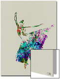 Ballerina Watercolor 5 Prints by  NaxArt