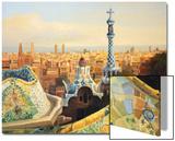 Barcelona, Park Guell Art by  kirilstanchev