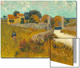 Farmhouse in Provence, 1888 Posters by Vincent van Gogh