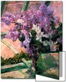 Lilacs in a Window, C1880 Affiches par Mary Cassatt