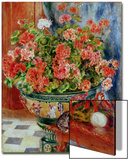 Geraniums and Cats, 1881 Posters by Pierre-Auguste Renoir