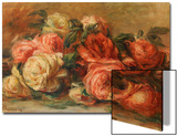 Discarded Roses Prints by Pierre-Auguste Renoir