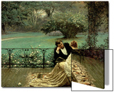 The Pride of Dijon, 1879 Print by William John Hennessy