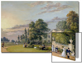 Tea at Englefield Green Posters by Paul Sandby