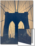 Brooklyn Bridge Poster by  NaxArt