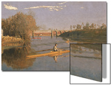 Max Schmitt in a Single Scull, 1871 Posters by Thomas Cowperthwait Eakins
