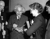 Albert Einstein Photo by  Globe Photos LLC