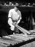 Babe Ruth Photo by  Globe Photos LLC