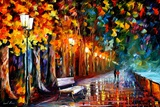 Way To Home Fotografisk trykk av Leonid Afremov